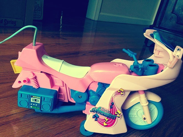 Barbie Boppin Cycle Other Side