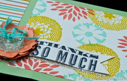 Stampin'Up Petal Parade close