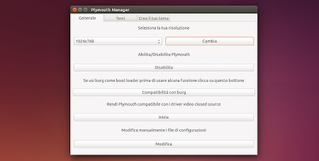 Plymouth Manager in Ubuntu 14.04
