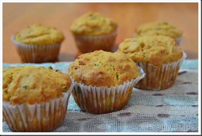 Fresh, warm muffins