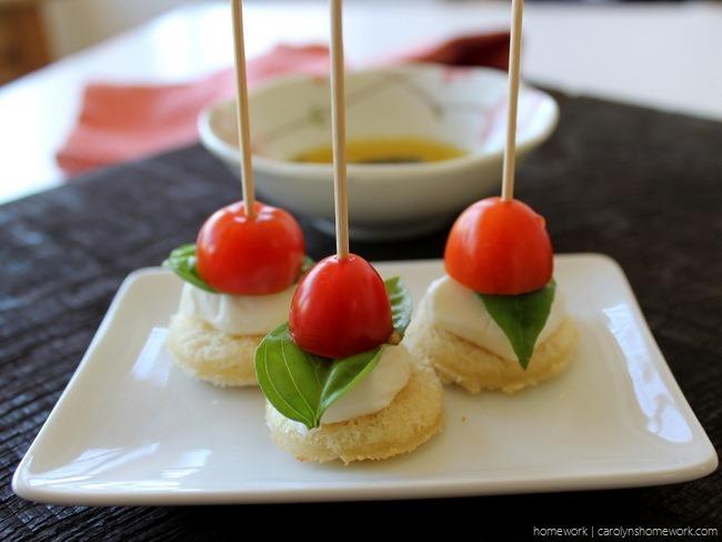 Tomato Basil Mozzarella Crostini Skewers via homework (2)[3]