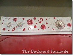 pimped my washing machine - The Backyard Farmwife