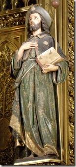 Santiago del altar de San Cernin - Pamplona