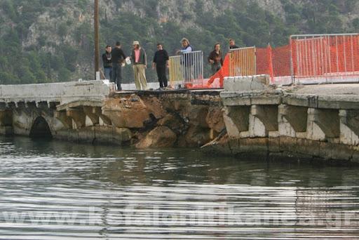 Ημερήσιος: Με το παράπονο έφυγε ο Τάκης Παυλάτος – Τοπικοί παράγοντες έστησαν εμπόδια στην αποκατάσταση της γέφυρας