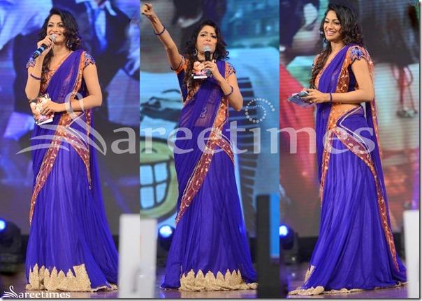 Udaya_Bhanu_Blue_Half_Saree
