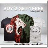 Zovi Tshirt offer: Buy pack of 3 T- Shirts from Rs. 359 only