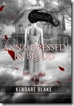 Anna dressed in Blood by Kendra Blake