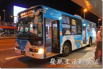 日本北九州自由行-福岡空港接駁車