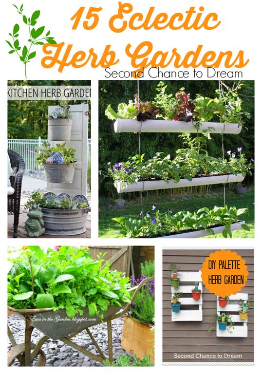 15 Eclectic Herb Gardens