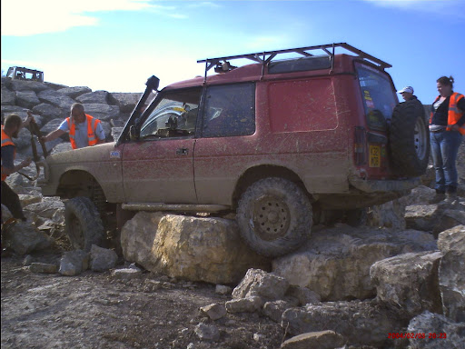 Hull 4x4 Land Rover Discovery.