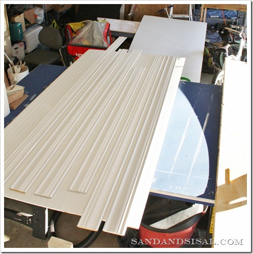 prepaint bead board  and molding