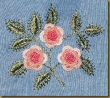 Cast-on Bullion Rose ( Joan's Rose)