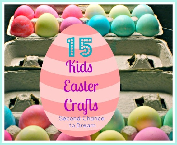15 Kids Easter Crafts