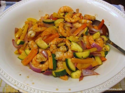 Shrimp & Veggie Stir Fry
