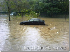 Banjir Jalan Tun Razak Kl 4