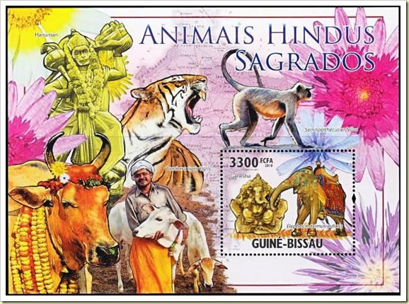 Sacred Animals of Hinduism SS