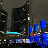 nuit blanche at city hall toronto in Toronto, Ontario, Canada