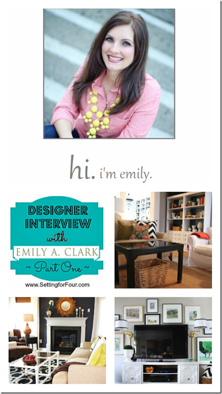 Interview with Emily A. Clark from Setting for Four