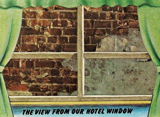 Вид из окна нашей гостиницы