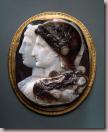 Portrait de Ptolémée II et Arsinoé II Came Gonzague ou camée Malmaison