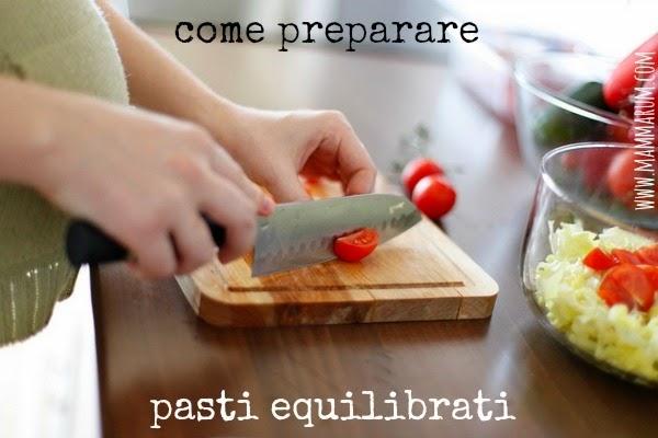 4 come preparare pasti equilibrati