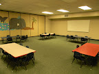 Rooms 151 and 153 are used for Pre-K and Kindergarten.  On Sun mornings, these groups learn from puppets and small group time.  On Wednesday nights, the Pre-K and Kindergarten split up for a traditional Bible class.