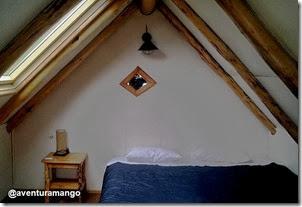 Interior das Cabanas em Los Cuernos
