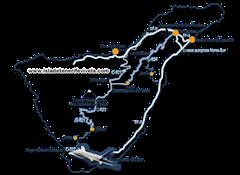Mapa aeropuerto Tenerife Sur