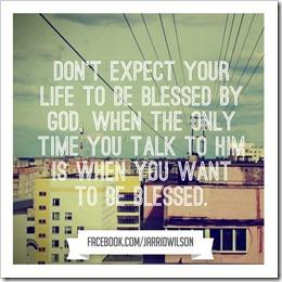 Blessings from God