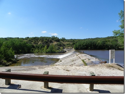 The Guadalupe River by Hwy 36 in Ingram