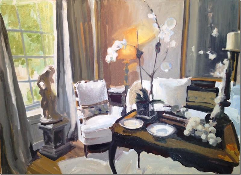 13A Joni's retreat. Laura Shubert 30 x 40