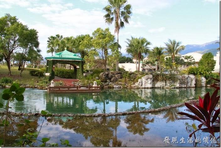 花蓮-理想大地渡假村。渡假村內共有七個碼頭,這是2號碼頭。