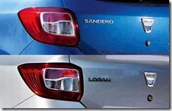 Dacia Logan en Sandero II in detail 09