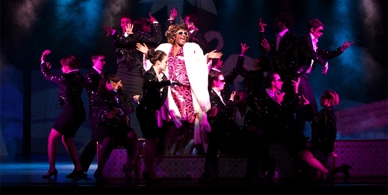 Ghost, the  Musical: Sharon D. Clarke as Oda Mae Brown