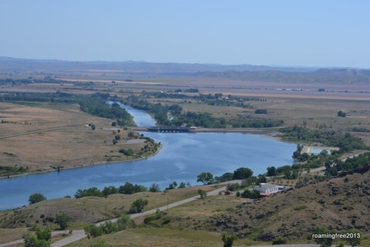 Afterbay and Bighorn River