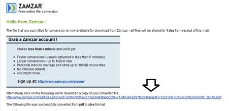 เวบไซต์แปลงเอกสาร pdf เป็น excel แบบออนไลน์