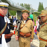 the Emperial Japanese Army at Comiket 84 - Tokyo Big Sight in Japan in Tokyo, Tokyo, Japan