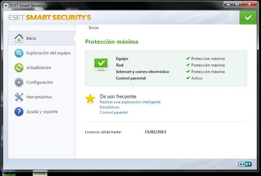 ESET Smart Security version 5