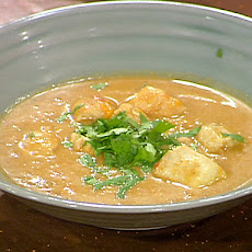 Senegalese Peanut Soup with Chicken