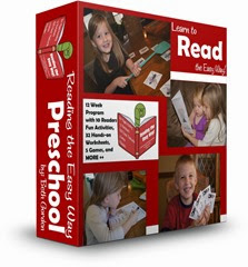 Reading the Easy Way Preschool #sightwords #preschool