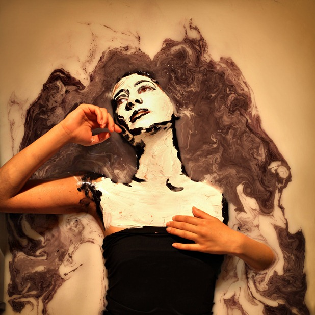 human paintings by alexa meade and sheila vand 1