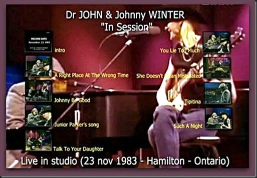 Johnny Winter Dr. John3