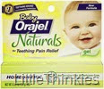 Baby Orajel Naturals Teething Pain Relief, Fruit Flavored D1