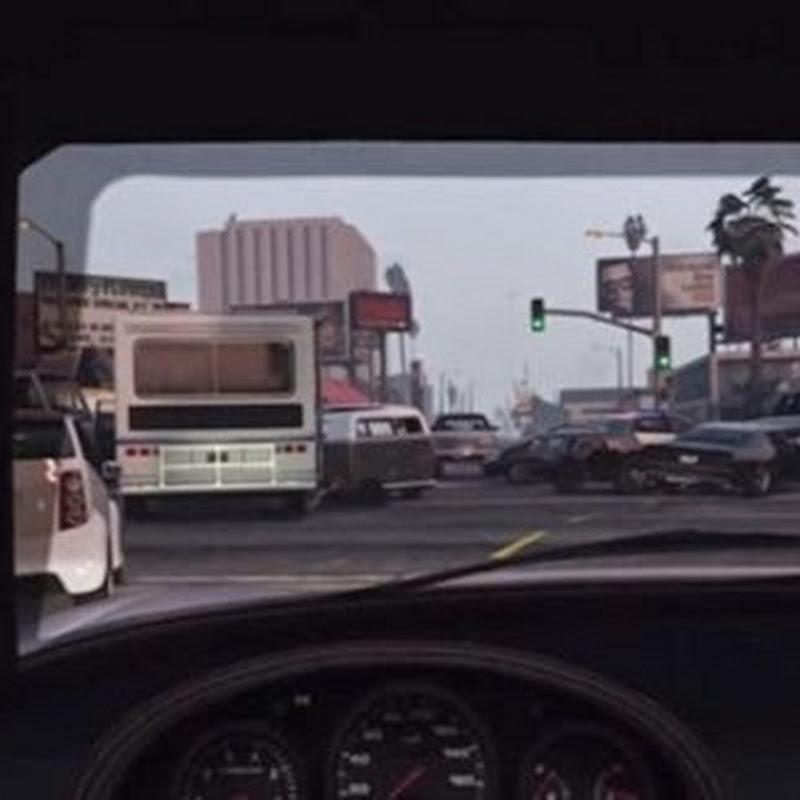 Unglaublicher GTA V Verkehrsstau passiert ganz von alleine