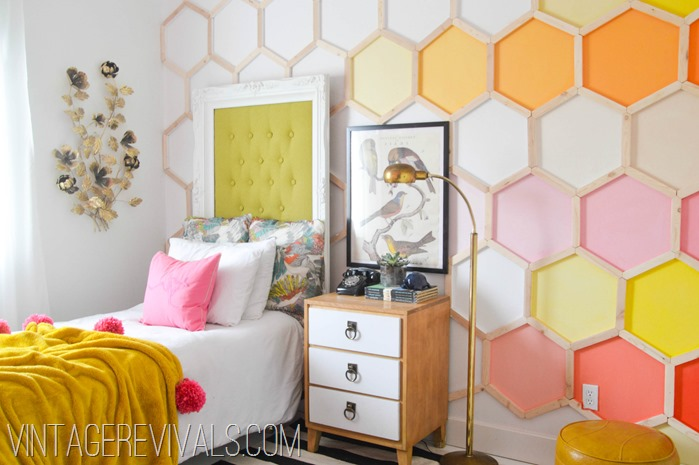 Colorful Little Girls Bedroom Makeover-2