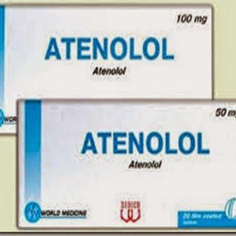 how to stop taking atenolol