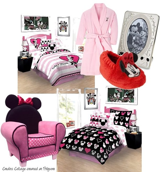 Minni Mouse Bedroom