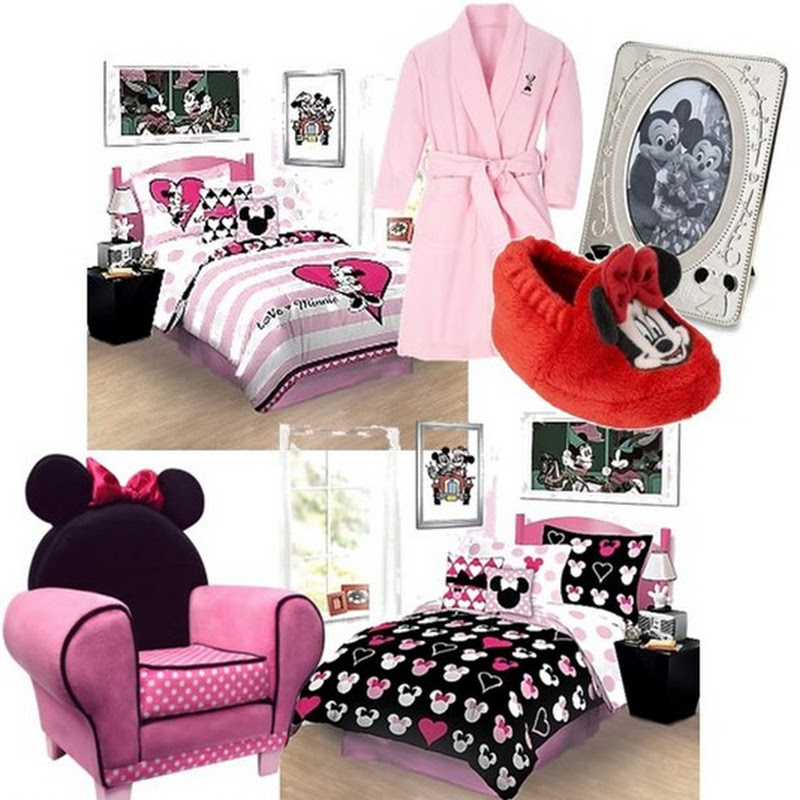 homeaholic the minnie mouse bedroom