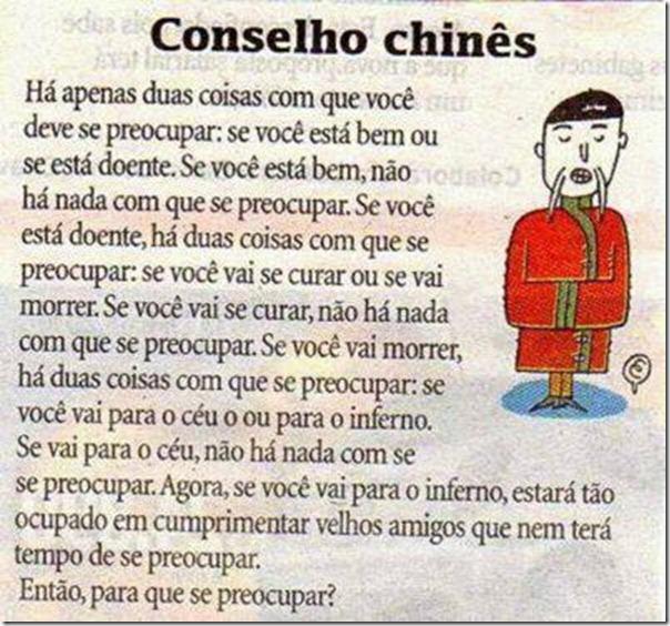Conselho chinês
