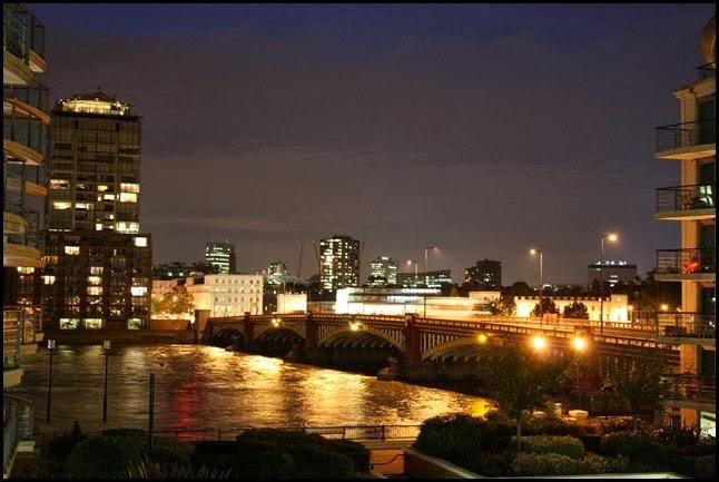 Vauxhall Bridge at Night
